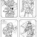 Fortnite colouring sheets new