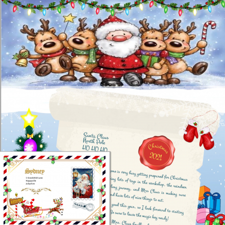 Santa Letters and Certificates